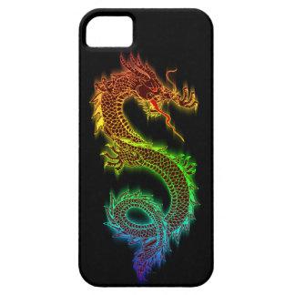 色彩東のドラゴン(黒) iPhone SE/5/5s ケース