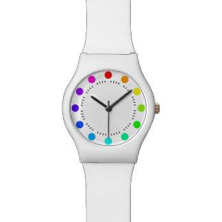 色時間 腕時計