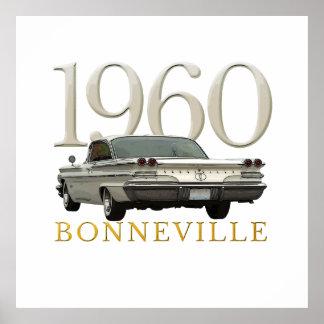 色「60のポンティアクのクーペポスター ポスター