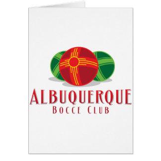 色ABQ Bocceクラブ カード