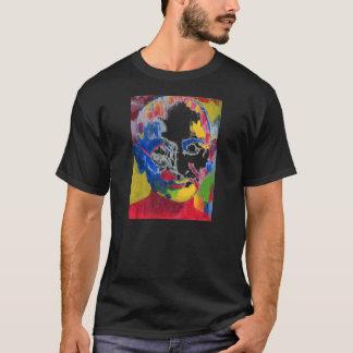 """色Mahatma Gandhi """"Tシャツ""""の顔 Tシャツ"""
