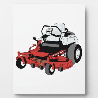 芝刈り機 フォトプラーク
