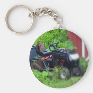 芝刈機のGroundhog キーホルダー