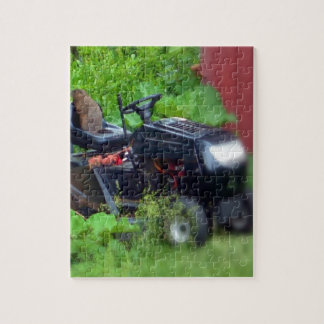 芝刈機のGroundhog ジグソーパズル