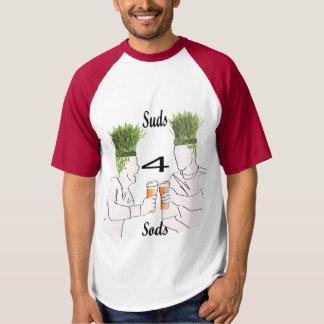 芝地のワイシャツのための石鹸水 Tシャツ