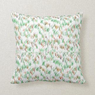 芝生のデザインの枕 クッション