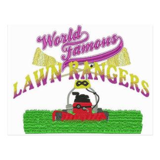 芝生のレーンジャーのロゴ項目 ポストカード
