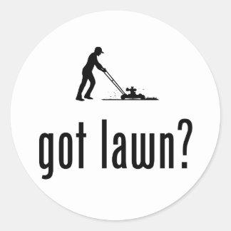 芝生の刈ること ラウンドシール