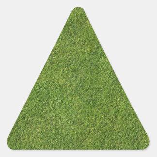 芝生の効果 三角形シール