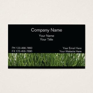 芝生の名刺 名刺