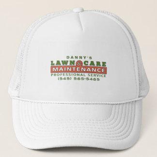 芝生の心配及び維持カスタムなビジネスロゴの帽子 キャップ