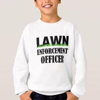 芝生の施行の役人 スウェットシャツ
