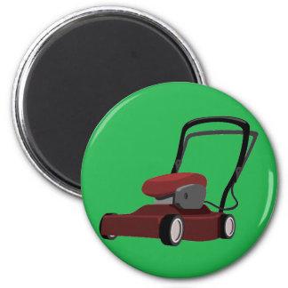 芝生の磁石を刈ること マグネット