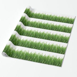 芝生の背景 ラッピングペーパー