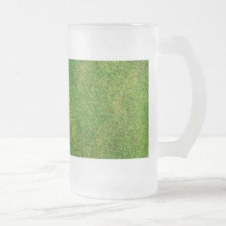 芝生の質 フロストグラスビールジョッキ