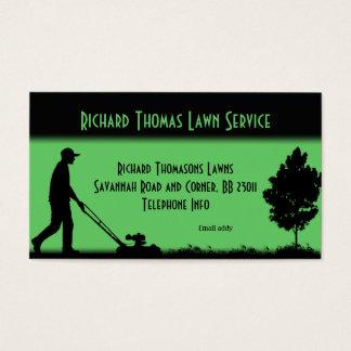 芝生サービス景色の名刺 名刺