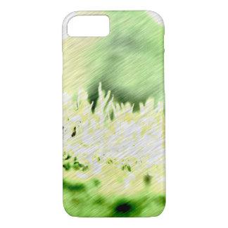 芝生色のハッチ iPhone 7ケース