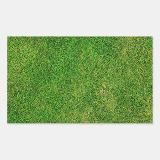 芝生 長方形シール