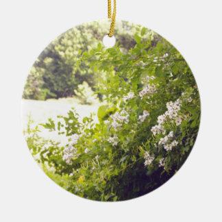 花いっぱいの草原 セラミックオーナメント