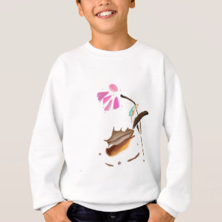 花およびハチドリimage.jpg スウェットシャツ