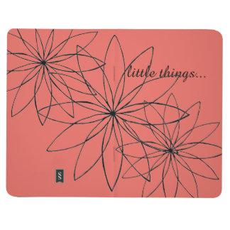 花および小さい事の小型ジャーナル ポケットジャーナル