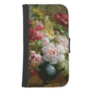 花および楽譜の静物画 ウォレットケース