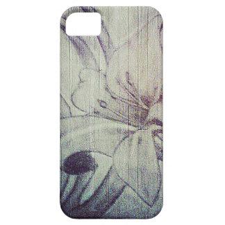 花があります斬新があって下さい iPhone SE/5/5s ケース
