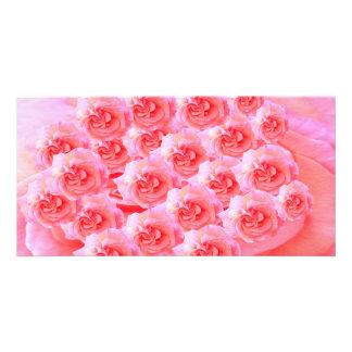 花が付いているGoodluckメッセージ カード