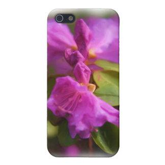 花が付いているiphoneカバー iPhone 5 カバー
