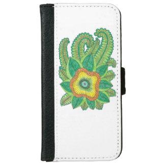花が付いているiPhone 6/6sのウォレットケース iPhone 6/6s ウォレットケース