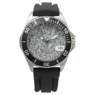 花こう岩|の自然な石造りのイメージ 腕時計