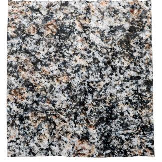 花こう岩-石造りの質 シャワーカーテン