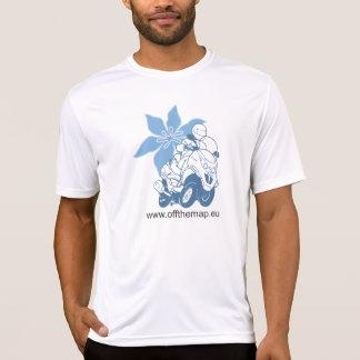 花との地図のロゴを離れて Tシャツ