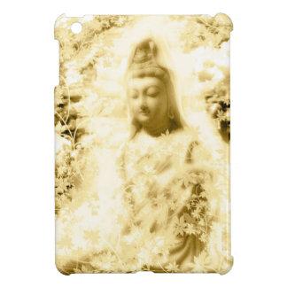 花と観音菩薩と伊勢神宮 iPad MINIカバー