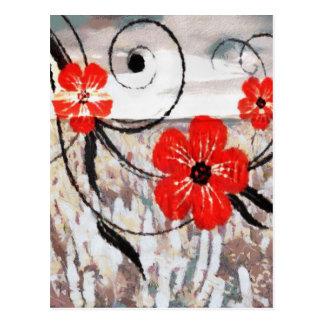 花のさざ波 ポストカード