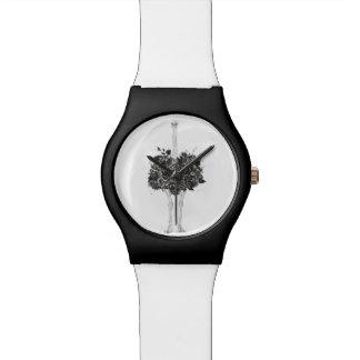 花のだちょう 腕時計