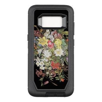 花のオッターボックスの擁護者のSamsungの銀河系S8の箱 オッターボックスディフェンダーSamsung Galaxy S8 ケース