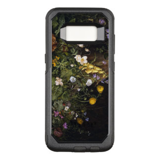 花のオッターボックスの通勤者のSamsungの銀河系S8の箱 オッターボックスコミューターSamsung Galaxy S8 ケース