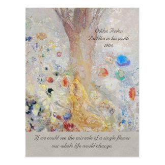 花のオディロン・ルドン仏CC0211の奇跡 ポストカード