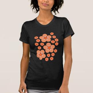 花のオレンジプロダクト Tシャツ