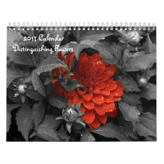 花のカレンダーを区別する2017カレンダー カレンダー