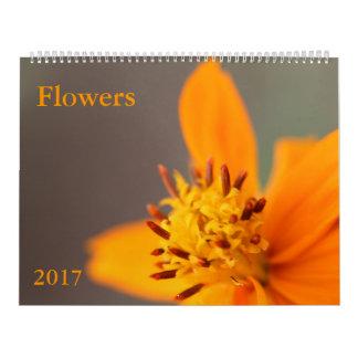 花のカレンダー カレンダー