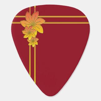 花のギフト ギターピック