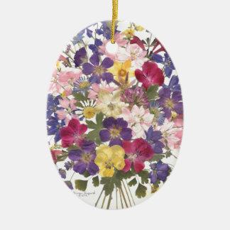 花のギフト セラミックオーナメント