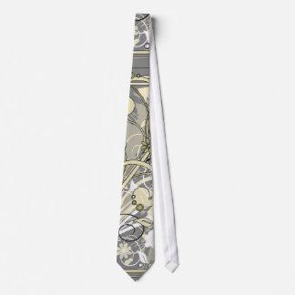 花のグランジなタイ オリジナルネクタイ
