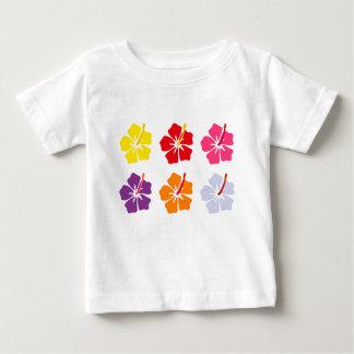 花のコレクション ベビーTシャツ