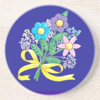 花のコースター コースター