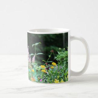花のコーヒー・マグの美しい分野 コーヒーマグカップ
