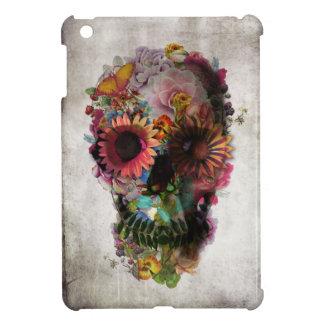 花のスカル iPad MINIケース