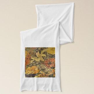 花のスカーフ スカーフ